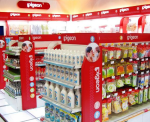 Pigeon's baby products are now sold across China