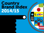 Country Brand Index 2014-15 Logo