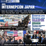44th INTERNEPCON JAPAN - Banner