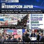 44th INTERNEPCON JAPAN - Banner
