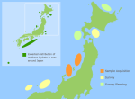 Japan Methane Hydrate Map