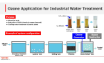 Toshiba - Ozone Application for Industrial Water Treatment