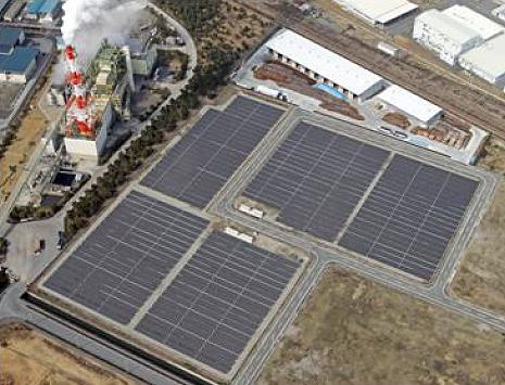 Asahi Glass Co., Ltd. - Mega-solar System in Ako city