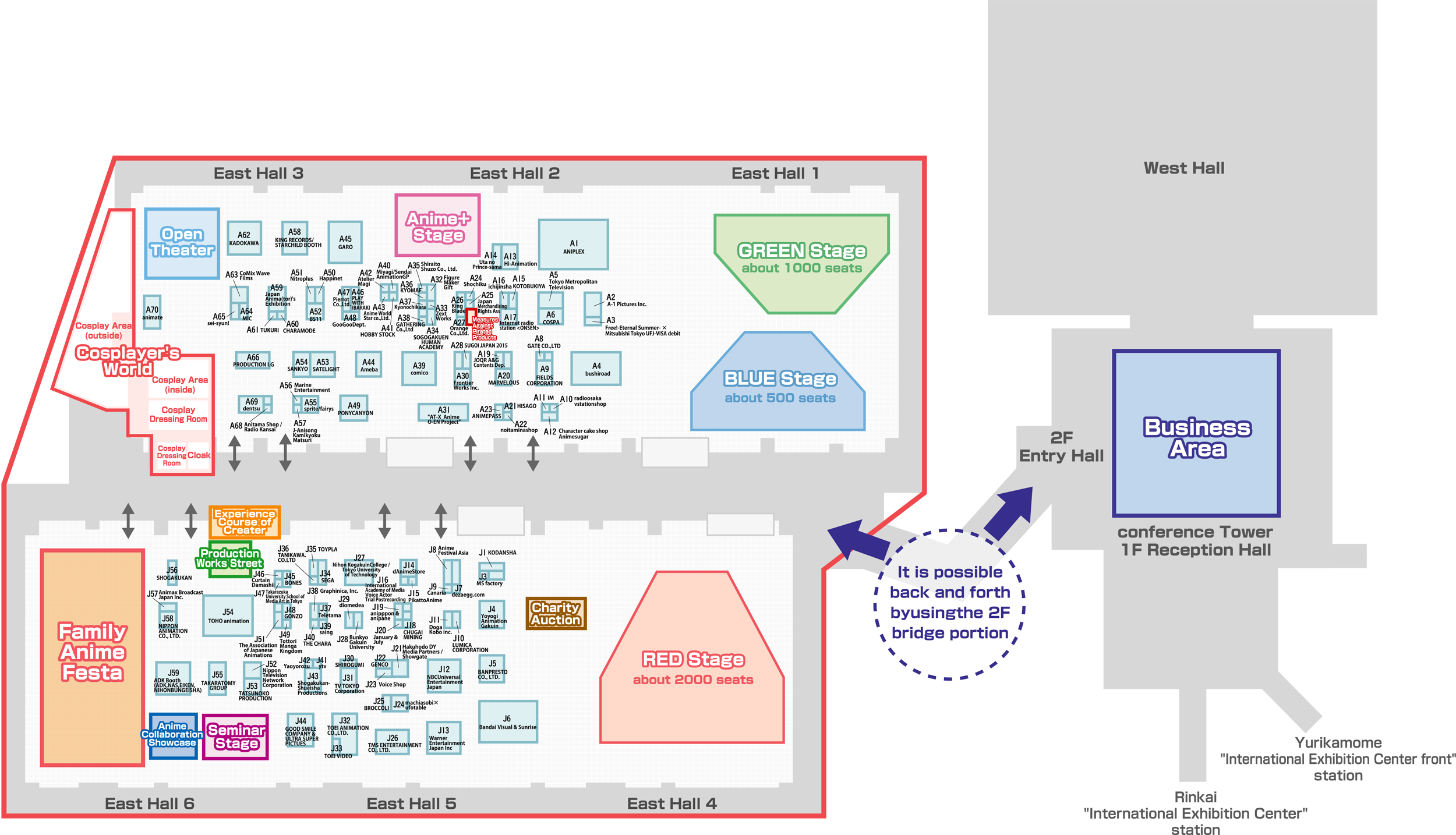 Image File - AnimeJapan 2015 Floor Map