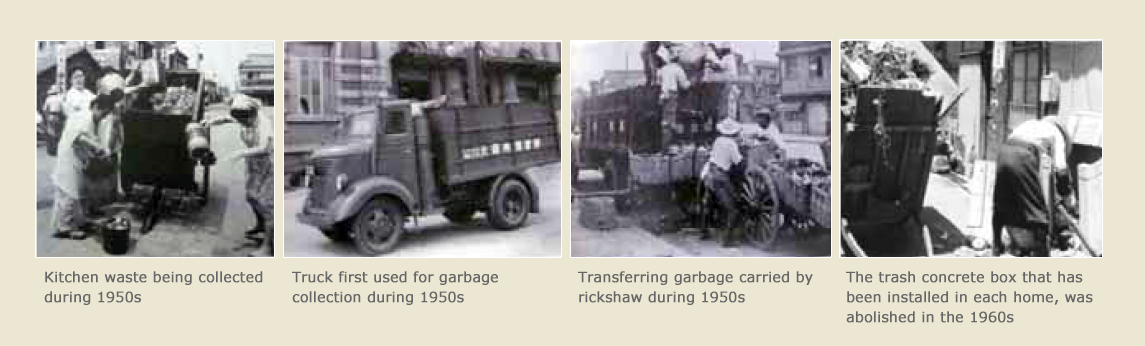 1950s History of Garbage Collection Trucks in Japan