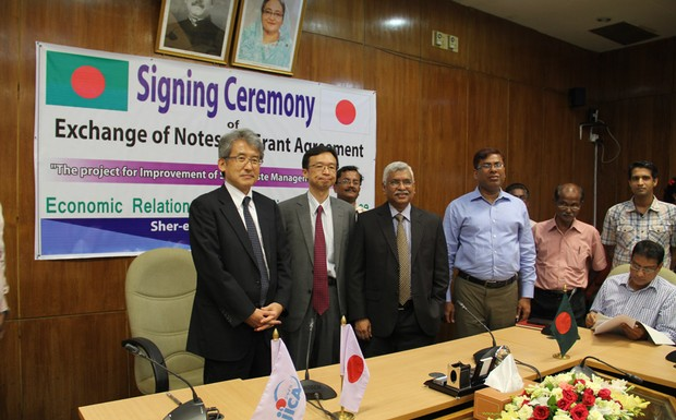 Bangladesh and Japan have signed grant agreements to improve solid waste management in Dhaka and Chittagong.