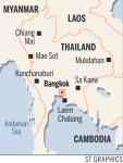 Thai high-speed rail route