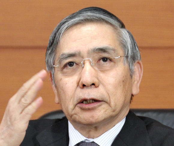 Bank of Japan Gov. Haruhiko Kuroda