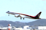 Mitsubishi MRJ first flight