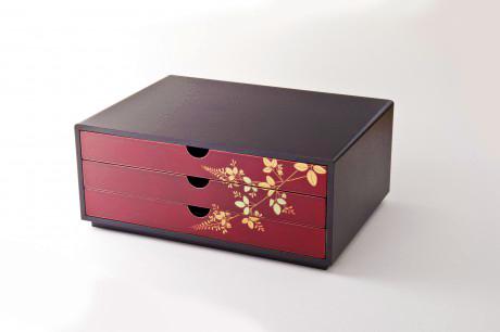 TOHOKU KOGEI Co., Ltd. - Tamamushi Lacquerware: Drawer Case