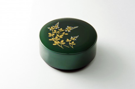 TOHOKU KOGEI Co., Ltd. - Tamamushi lacquerware: Round Accessory Case