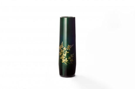 TOHOKU KOGEI Co., Ltd. - Tamamushi lacquerware: DoCho Vase