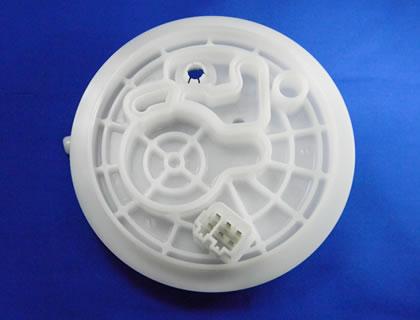 Kawashima Kinzoku Co., Ltd. - In-vehicle parts(Engine pump lid)