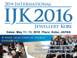 20th International Jewellery Kobe - Banner