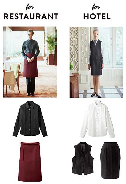 Uniforms for Restaurant and Hotel - Bon Uni