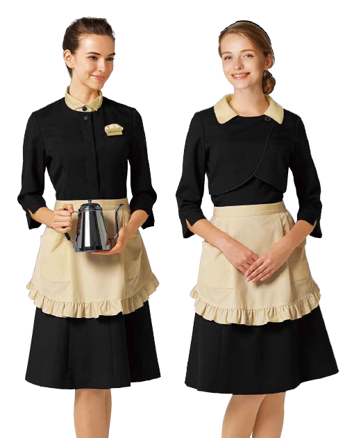 Waitress Uniform 01 - Bon Uni