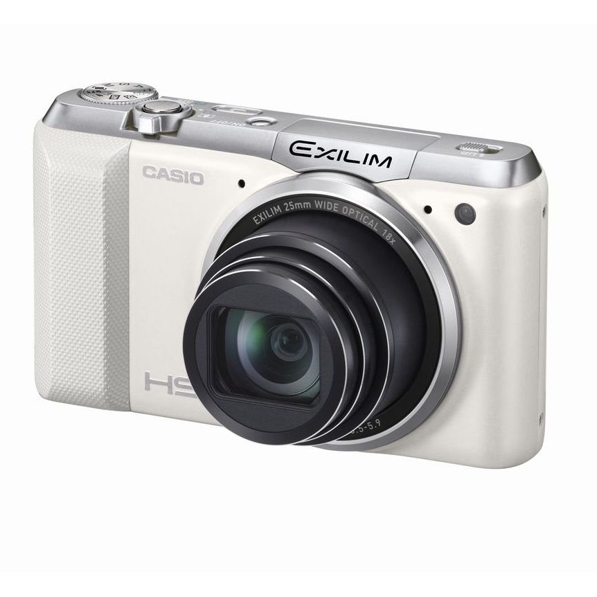 Casio EXILIM High Speed EX-ZR850 EXZR850WE (White) Digital Camera with 16.1 MP with 18x Optical Zoom with WiFi Function