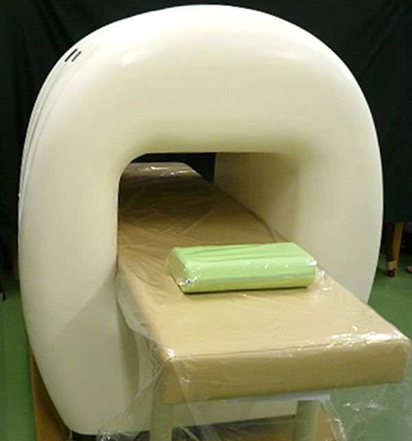 Appearance of examination equipment