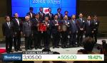 Kyushu Railway makes firm debut on Tokyo Stock Exchange