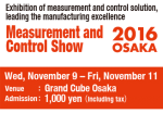 Measurement and Control Show 2016 OSAKA - Banner
