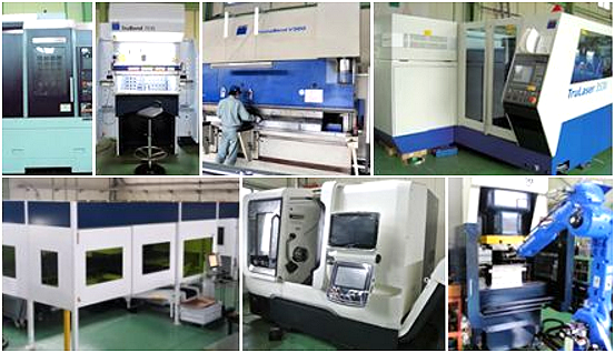 Daiichi Fab Tech Co., Ltd. - Machines