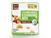 Steamed Bean Snack – Steamed Organic Beans Products. Good for Vegan too!