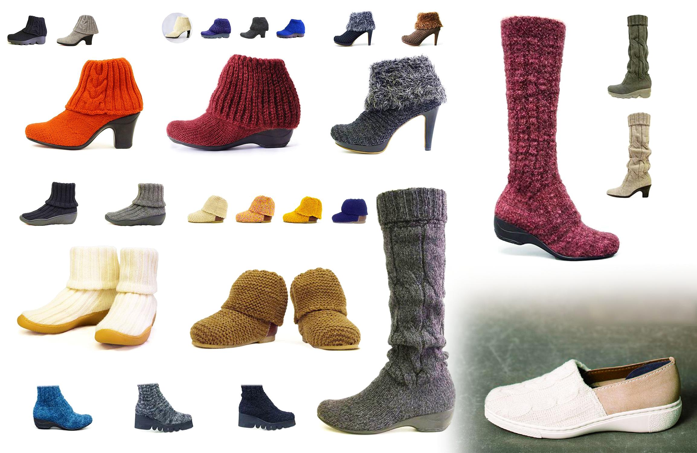 Knit Boots & Pumps - KEiKA