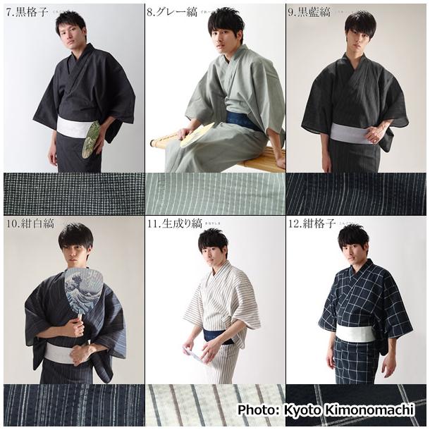02 Yukata for Mens - Kyoto Kimonomachi