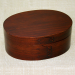 Lacquer Coating Oval Bento Box