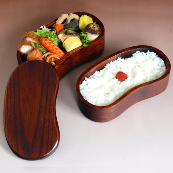 "Lacquer Coating Rice Cooker ""Hangou"" Style Bento Box"