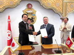 Japan-Tunisia