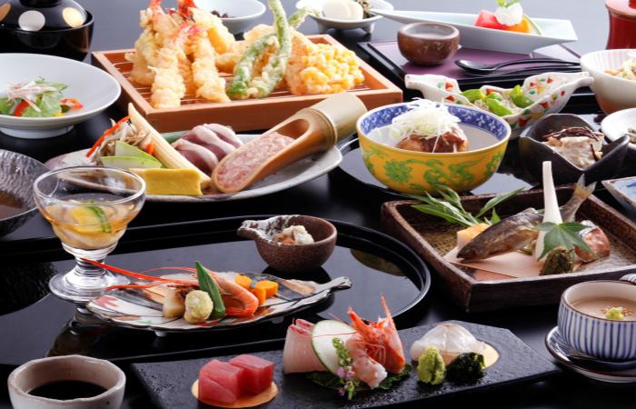 Kyoto Arashiyama Onsen Kadensho - Kaiseki Food