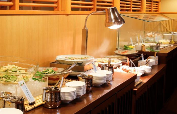 Kyoto Arashiyama Onsen Kadensho - Buffet