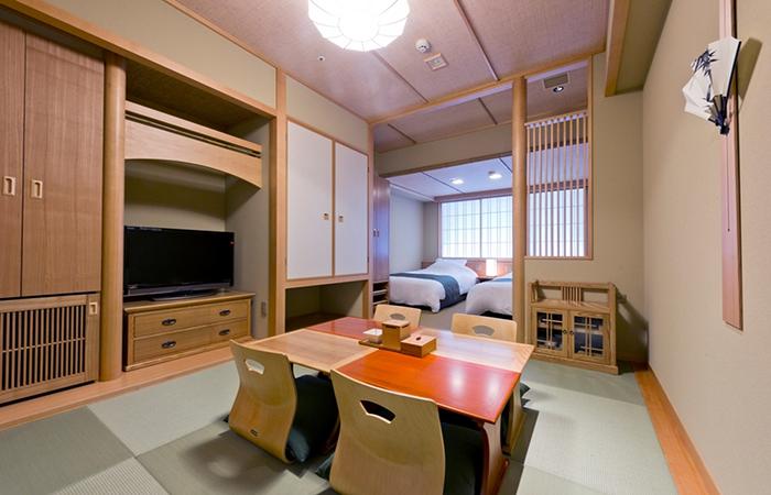 Kyoto Arashiyama Onsen Kadensho - Semi Western Style Room