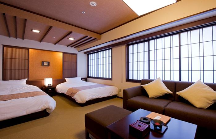 Kyoto Arashiyama Onsen Kadensho - Superior Twin Room