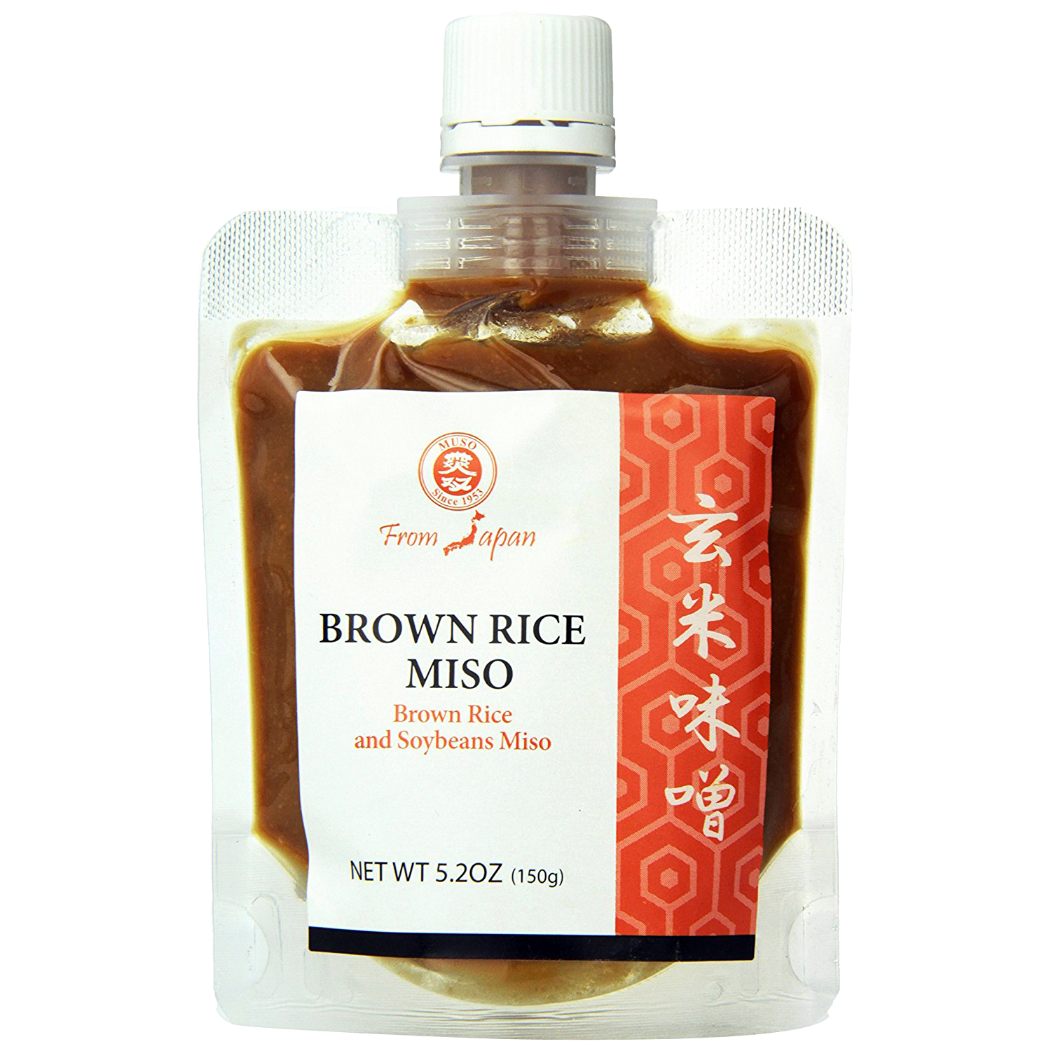 Muso From Japan Smart Miso, Brown Rice, 5.2 Ounce