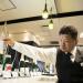 Nanbu-Bijin Brewery's Awasake Sparkling, left, at Isetan Shinjuku Store.Photographer: Tomohiro Ohsumi/Bloomberg