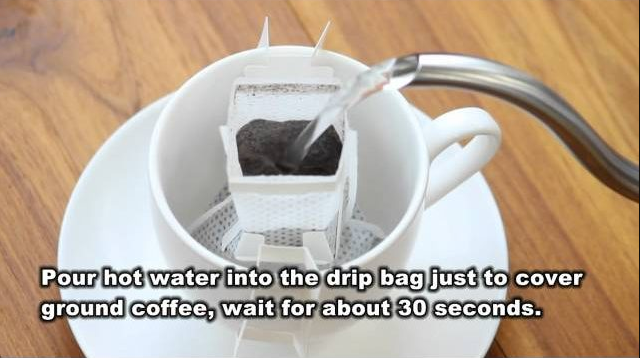 "Seiko Coffee Co., Ltd. - ""How to use drip bag"" video"