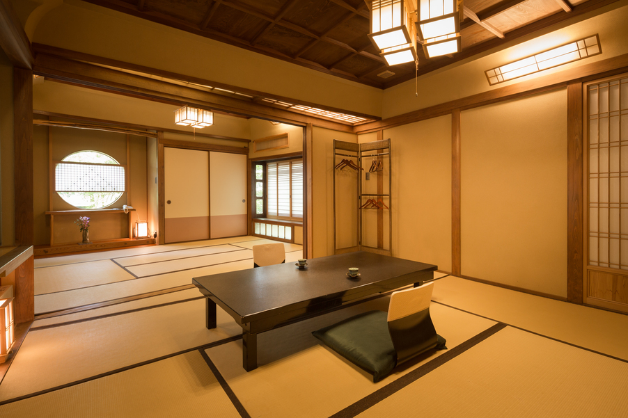 Seiryuan - Japanese-Style Room with Cypress Bath with Bathroom and Toilet Up to 4 people