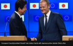 Shinzo-Abe_Donald-Tusk
