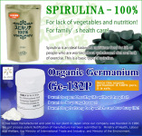 "Dietary supplement ""Spirulina"" and ""Organic Germanium"" – Japan Algae Co., Ltd."