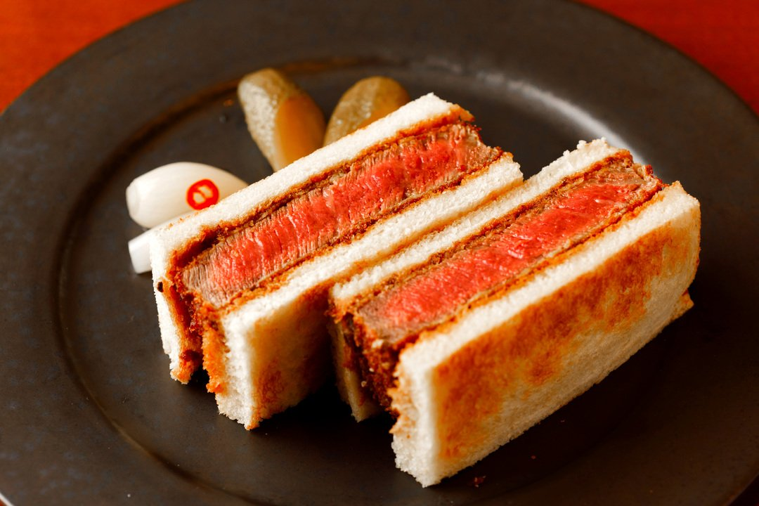 Japanese Wagyu Sandwich - Photo: Business Insider Japan