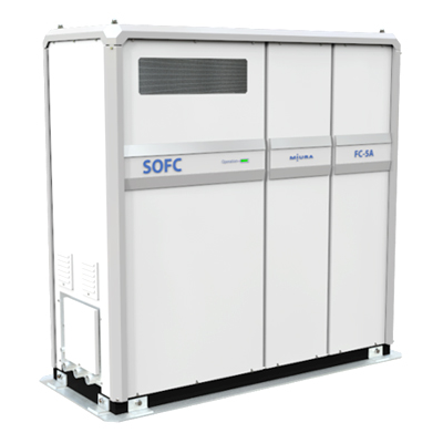 Figure: The 4.2 kW Solid Oxide Fuel Cell (SOFC) Unit for Commercial Use