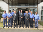 Mayor Todd Barton and Hiruta Kogyo Staff