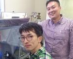 Tokyo Metropolitan University's Researchers - Yosuke Goto and Yoshikazu Mizuguchi