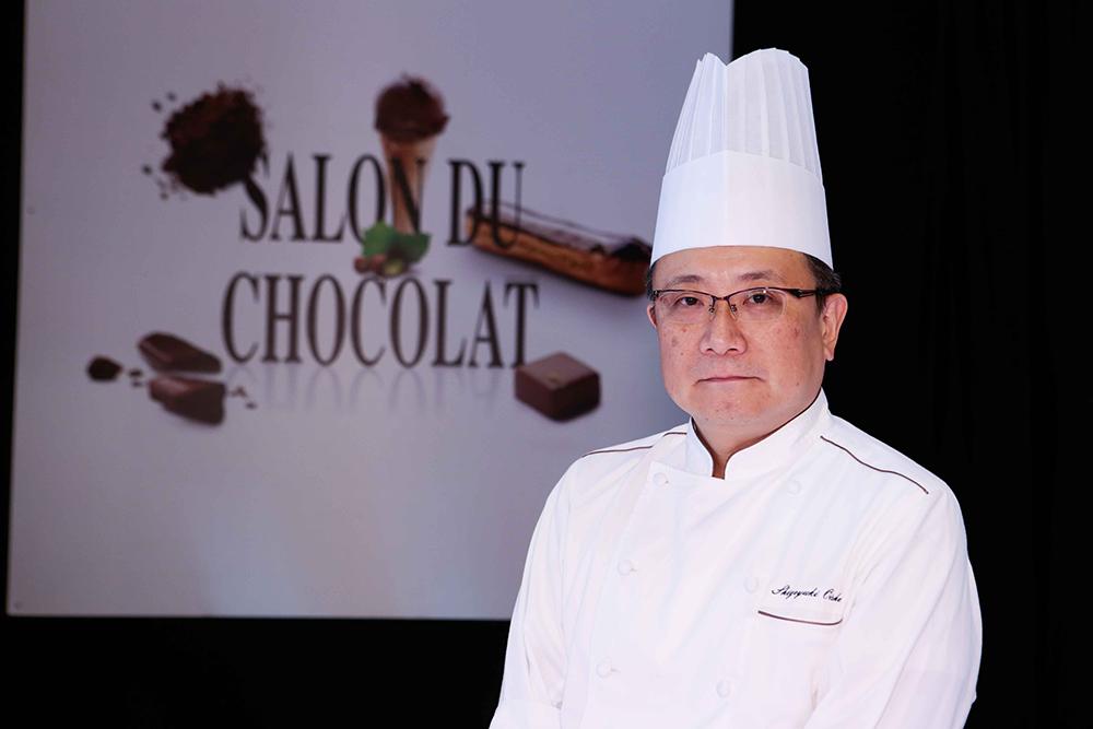 Chef Chocolatier Shigeyuki Oishi