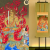 Color Painting on Silk of the Five Wisdom Kings Fudo Myoo - Product 1