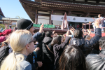 Setsubun Mame-maki Festival at Zojoji Temple