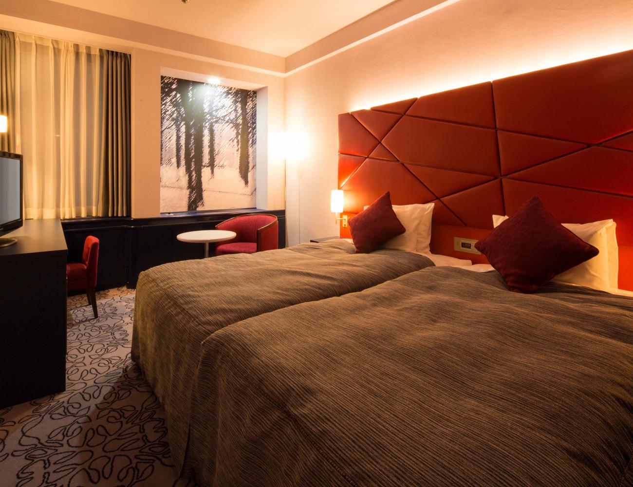 Shibuya Park Hotel - Annex Hollywood Twin Room