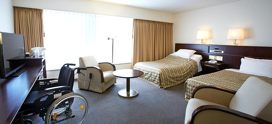 Keio Plaza Hotel Tokyo - Universal Designed Room